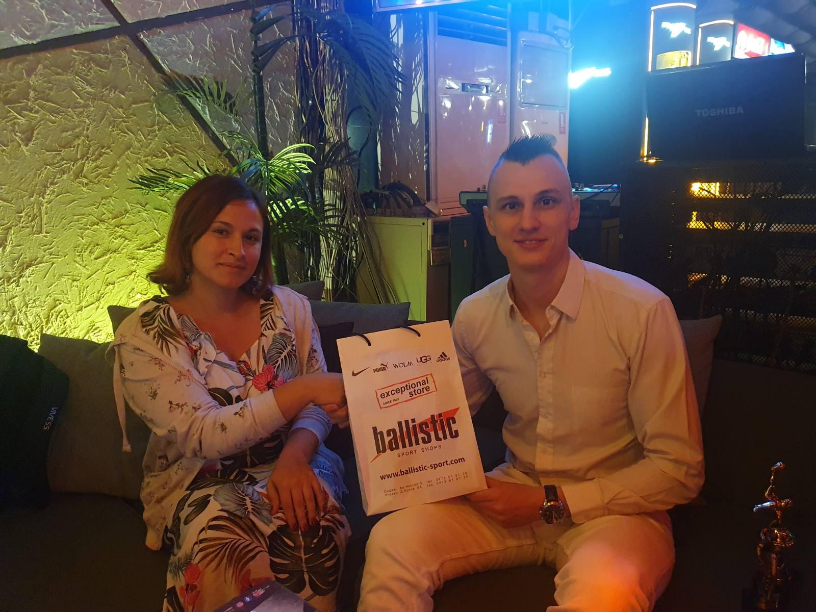 Владислав Робев триумфира с приза за Гол на сезона